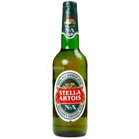 Stella Artois, 500 мл, пиво, безалкогольное