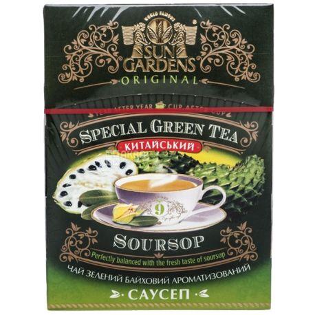 Sun Gardens, 100 г, чай, зеленый, Саусеп