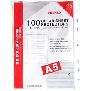 Penhao, 100 шт., 40 мкм, файли, А5, м/у