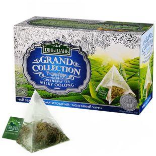 Тянь Шань, Milky Oolong, 20 пак., Чай Молочный Улун, зеленый