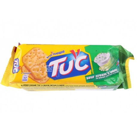 TUC, 100 г, крекер, Сметана з цибулею