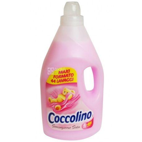 Coccolino 4 л, кондиціонер-ополіскувач, шовк