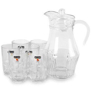Luminarc, 1,6 л, 270 мл, набор, ARCOPAL Orient, стекло