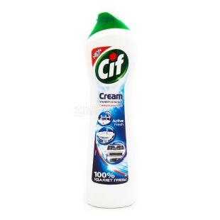 Cif, 500 мл., чистящий крем, Универсальный, Active Fresh, ПЭТ