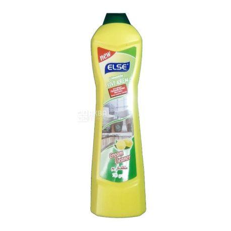 ELSE, 750 г, крем чистящий, Лимон, ПЭТ