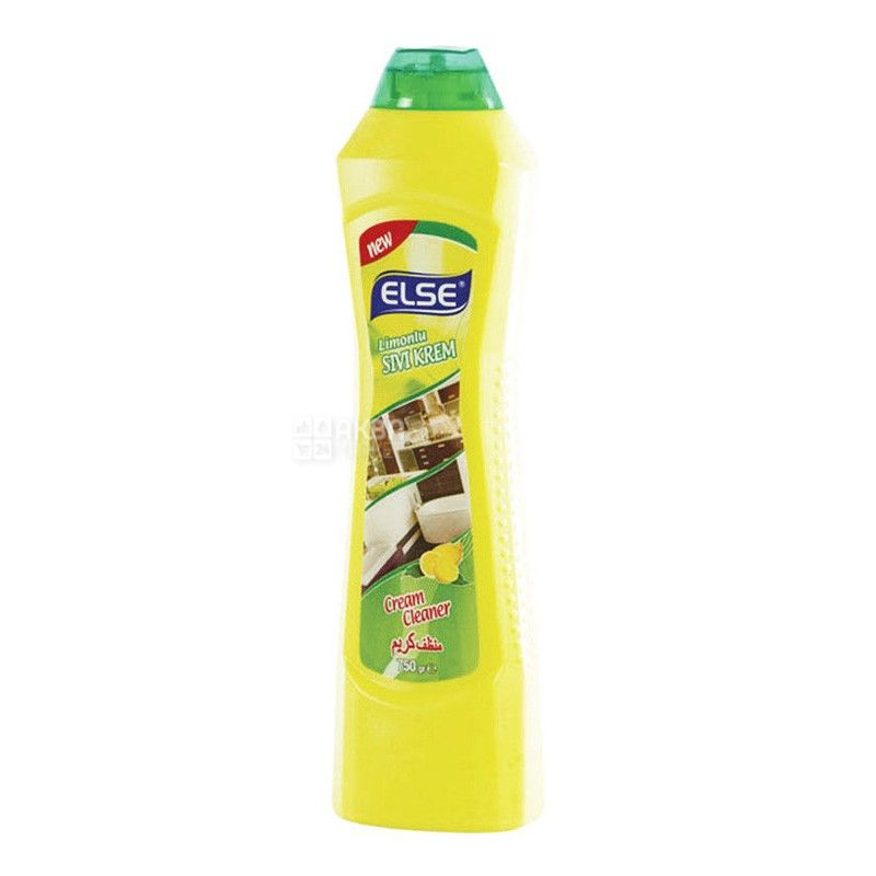 ELSE, 750 g, cleaning cream, Lemon, PET