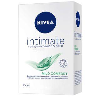 Nivea, 250 мл, гель для интимной гигиены, Mild Comfort