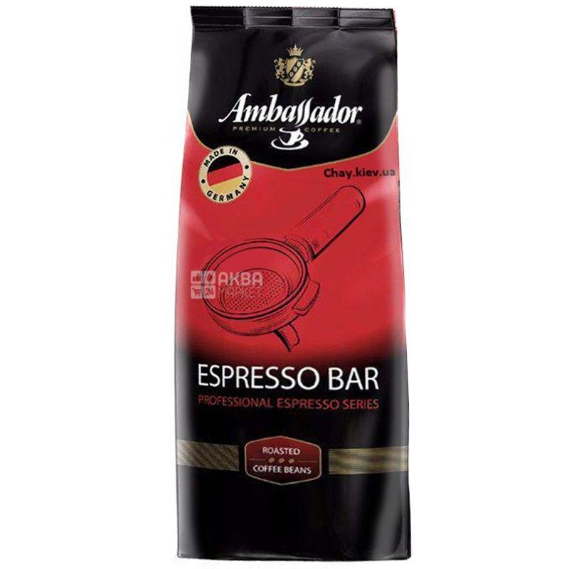 Ambassador Espresso Bar, 1 кг, Кофе в зернах Амбассадор Эспрессо Бар