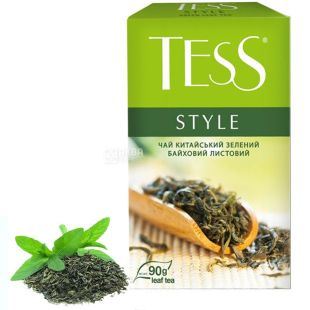 Tess, 90 g, Tea, Green, Style
