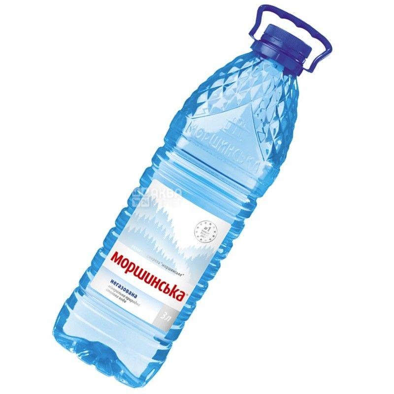 Моршинская, 3 л, Вода негазированная, ПЭТ