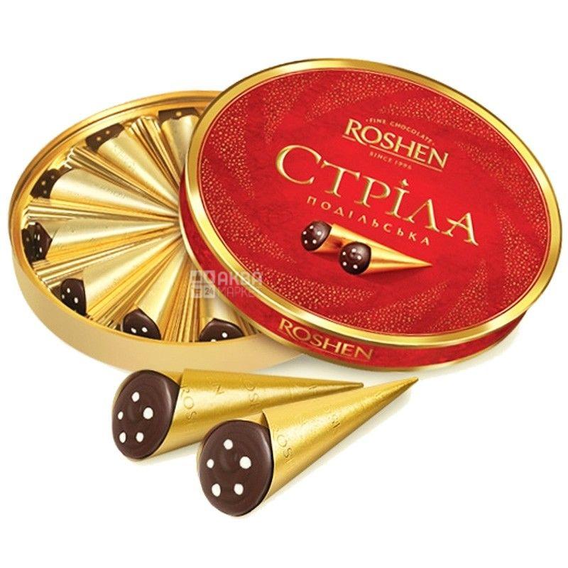 Roshen, 200 г, конфеты, Стрела, Подольская