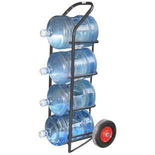 Trolley for moving 4 bottles of water 19l, RR210B4