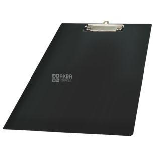 Buromax, планшет з кліпом, Чорний, А4, м/у