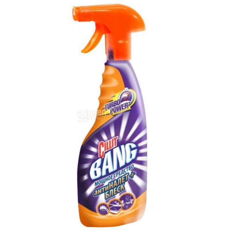 Cillit Bang, 750 мл, средство для чистки ванны, Антиналет+Блеск, ПЭТ