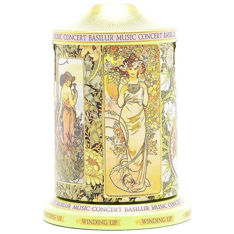 Basilur, 100 г, чай, зеленый, Музыкальная шкатулка, Романтика