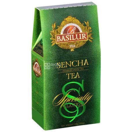 Basilur, Sencha, 100 г, Чай Базілур, Сенча, зелений