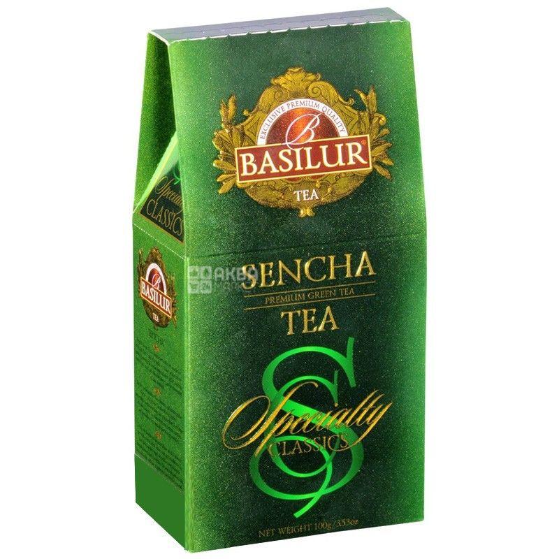 Basilur, 100 g, tea, green, Chosen classics, Sencha