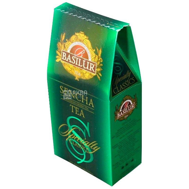 Basilur, Sencha, 100 г, Чай Базилур, Сенча, зеленый