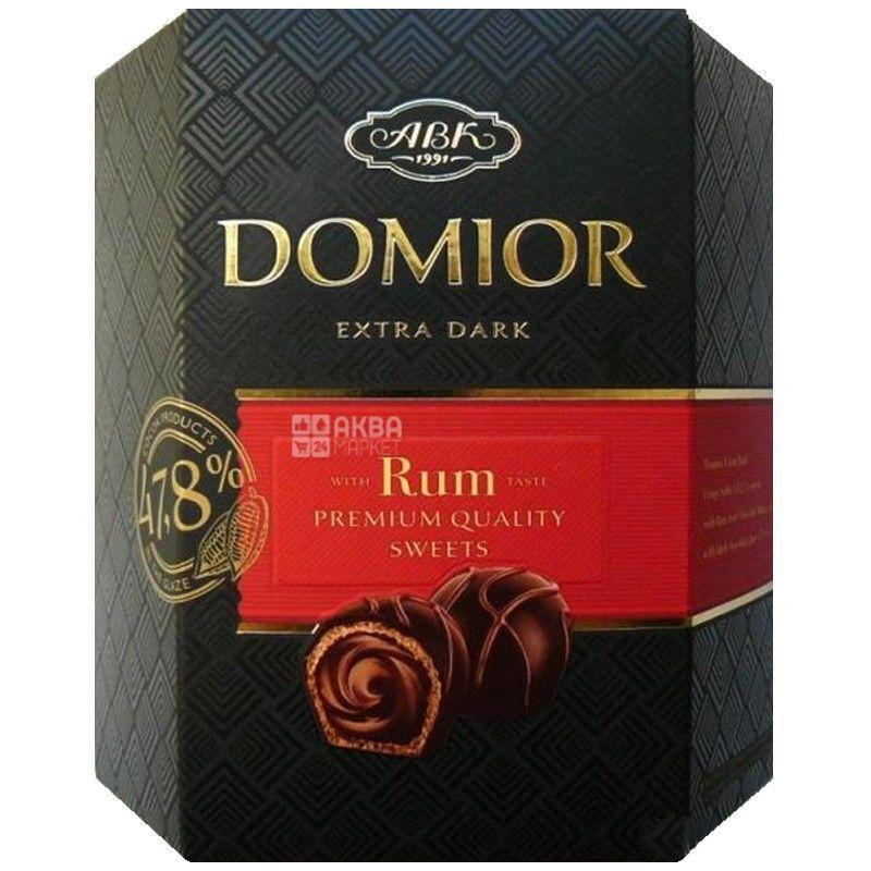 АВК, 225 г, конфеты, со вкусом рома, Domior