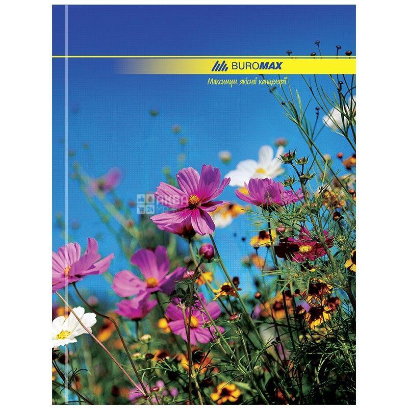 Buromax, 96 аркушів, А4, Канцелярська книга, Клітинка