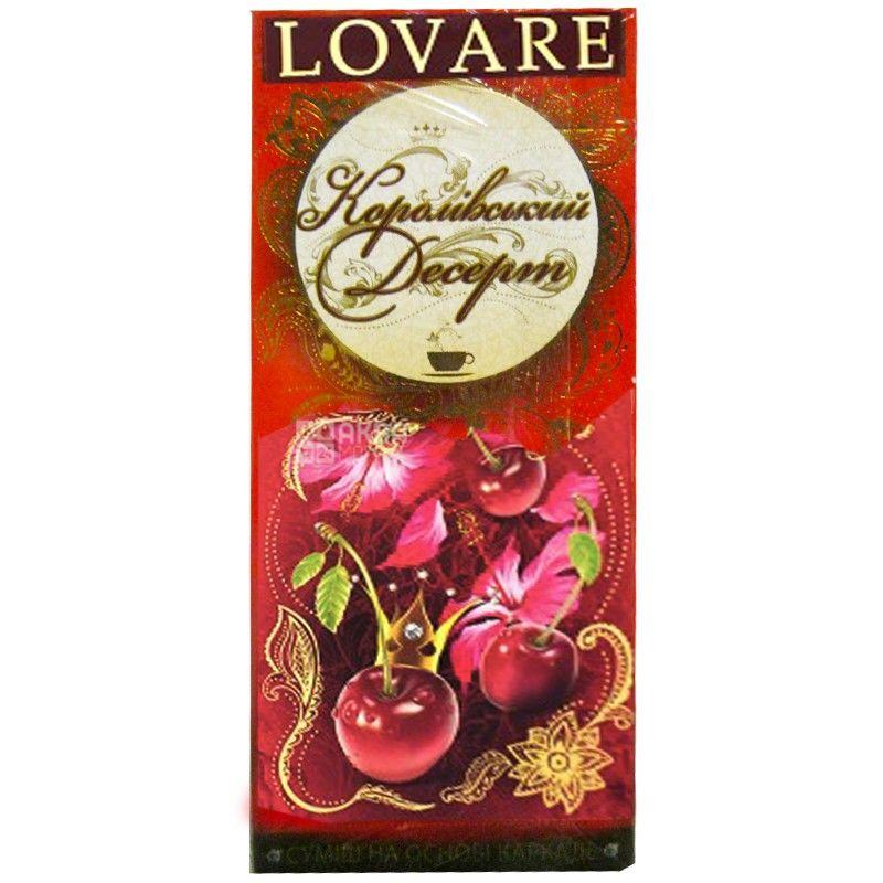 Lovare, 60 г, Чай Ловаре, Королевский десерт, Каркаде