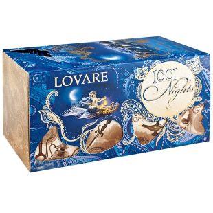 Lovare, 1001 nights, 24 пак., Чай Ловаре,1001 ночь, Смесь черного и зеленого