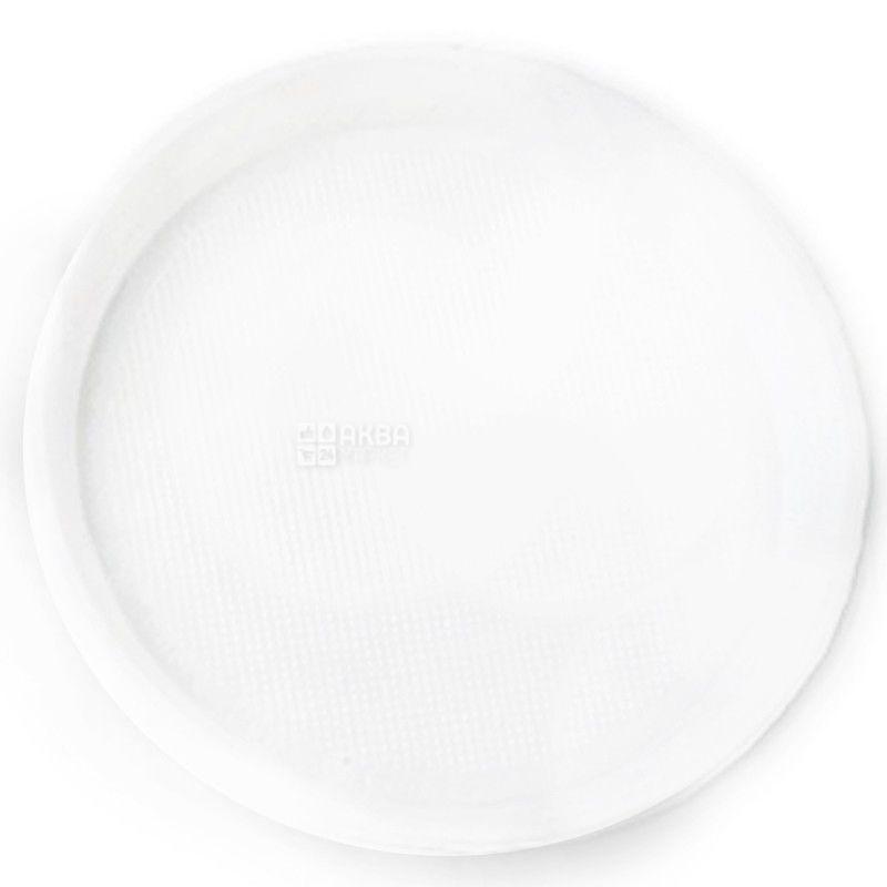 Промтус, Тарілки пластикові десертні Ø 16 см, 10 шт.