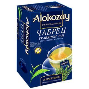 Alokozay, 25 шт., чай трав'яний, з чебрецем