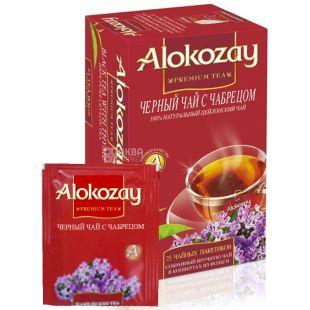 Alokozay, 25 шт., чай чорний, з чебрецем