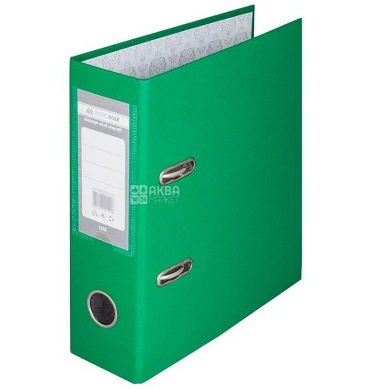 Buromax, 7 см, папка-реєстратор, Зелена, А5, м/у