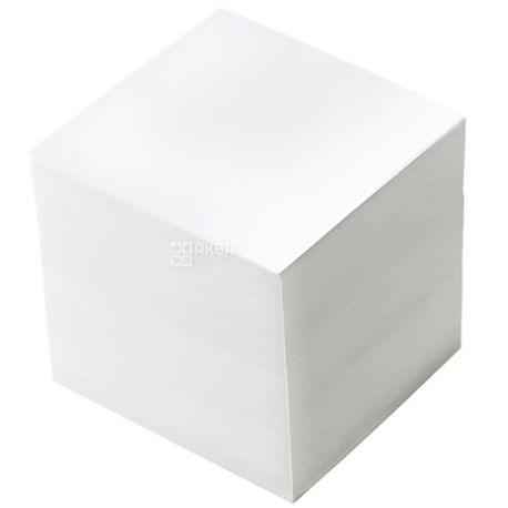 Buromax, 1000 l., 90х90 mm, note paper, White, m / s