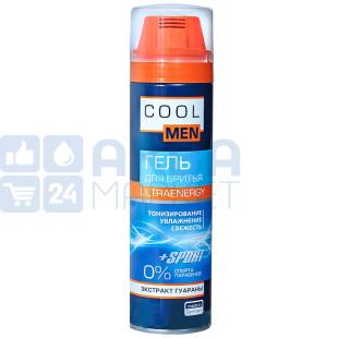 Cool Men, 200 мл, гель для бритья, UltraEnergy