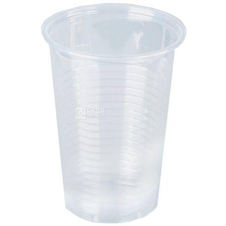 Стаканчик пластиковый Прозрачный устойчивый 180 мл, 100 шт. АТЕМ