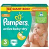 Pampers, 126 шт., підгузники, 5-9 кг, Active Baby-Dry