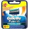 Gillette, 4 шт., касети, змінні, Fusion Proglide