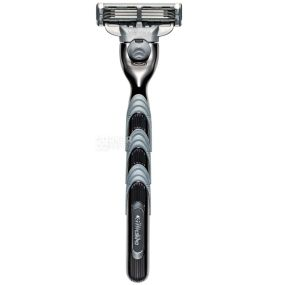 Gillette, 1 шт., станок для гоління, Mach3