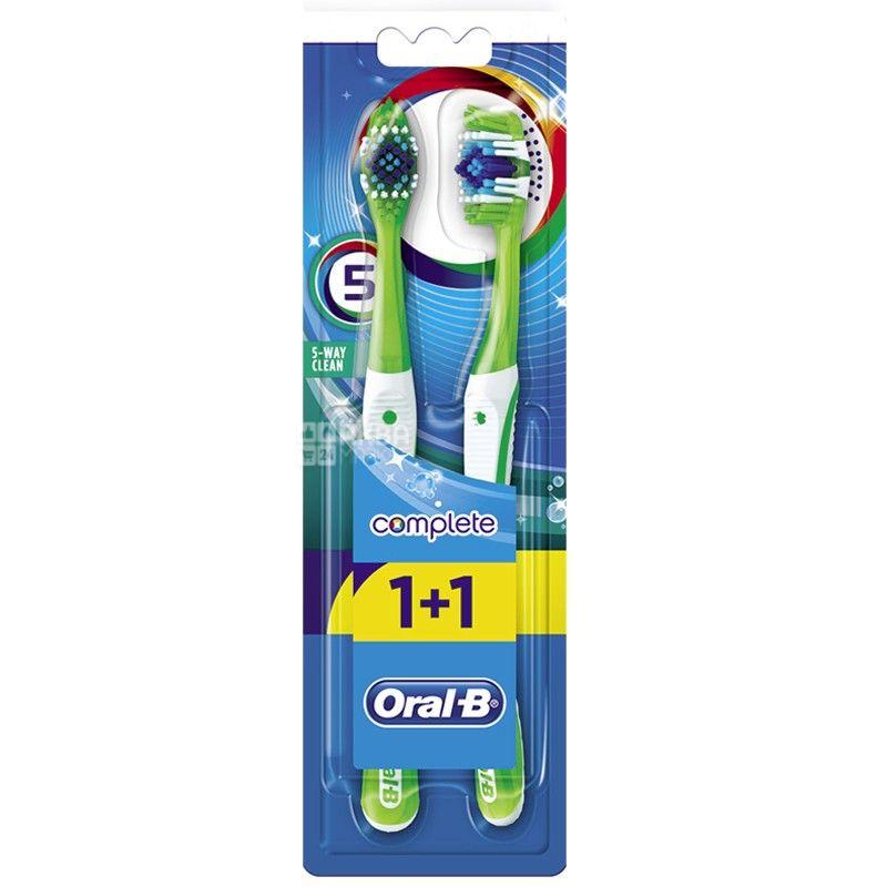 Oral-B, зубная щетка, Комплекс, Пятисторонняя чистка