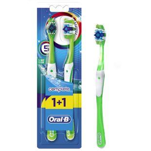 Oral-B, зубна щітка, Комплекс, П'ятистороннє очищення
