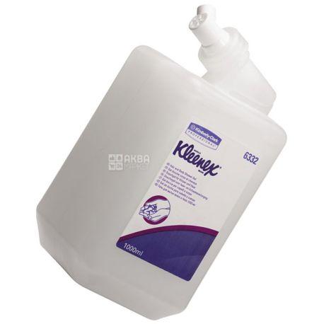 Кimberly-Clark, 1 л, картридж для диспенсера, шампунь+гель для душа, Kleenex