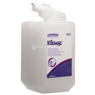 Кimberly-Clark, 1 л, картридж для диспенсера, шампунь+гель для душу, Kleenex