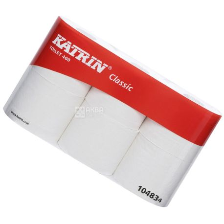 Katrin Classic, 6 рул., Туалетная бумага Катрин Классик, 2-х слойная
