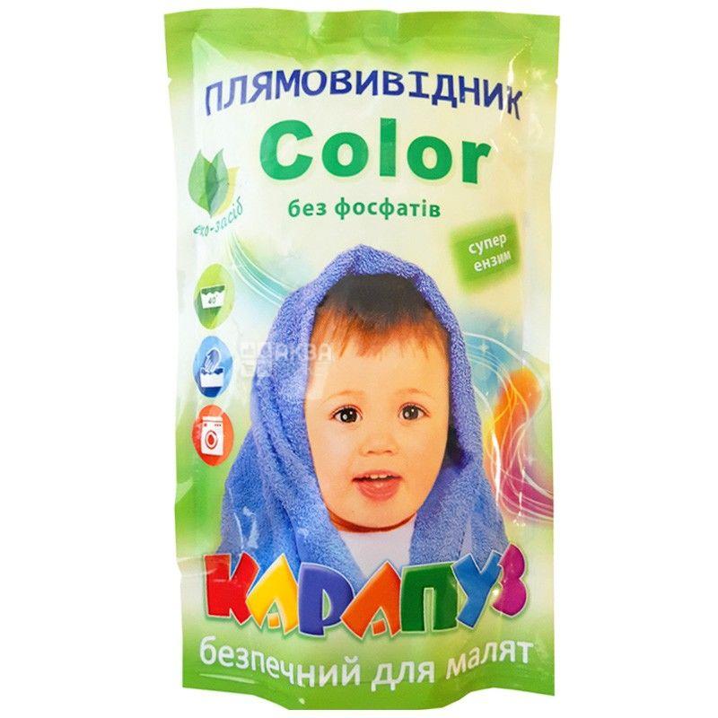 Карапуз, 200 г, пятновыводитель, Color, суперэнзим