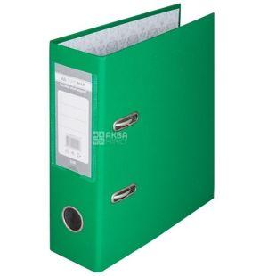 Buromax, 7 см, папка-регистратор, Зеленая, А4, м/у