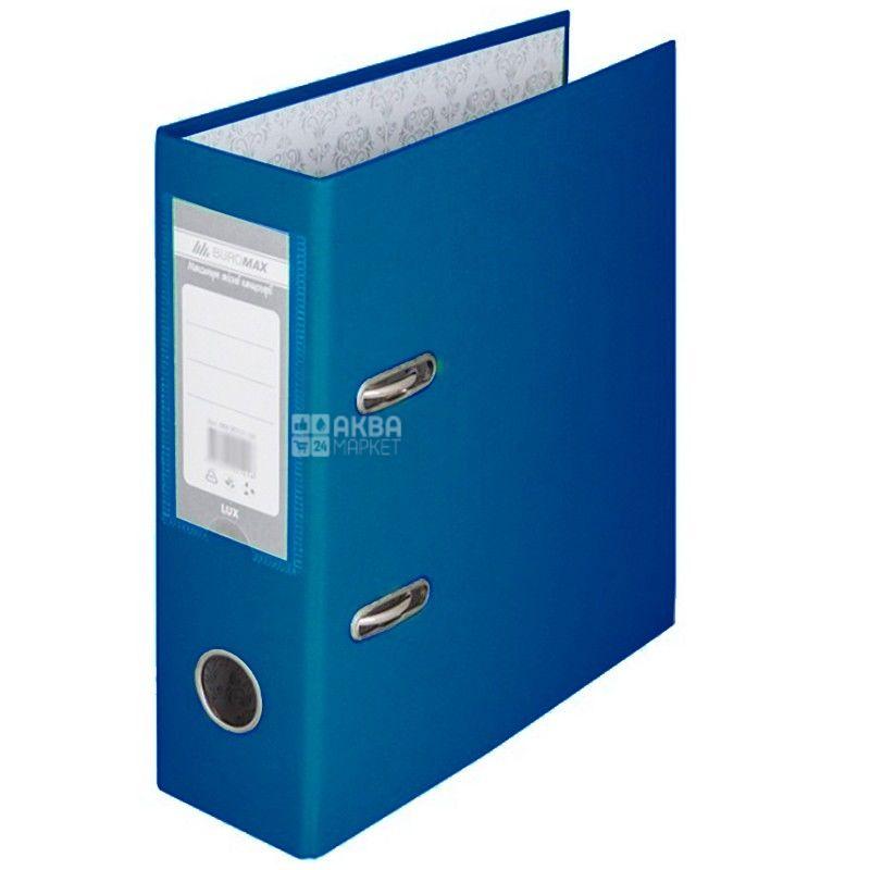Buromax, 7 см, папка-реєстратор, Синя, А4, м/у