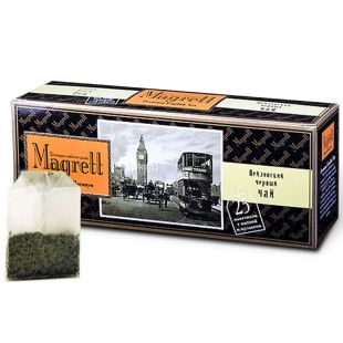 Magrett, 25 шт., чай, черный, English Premium