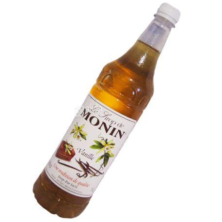Monin, Vanille, 1 л, Cироп Монин, Ваниль, ПЭТ