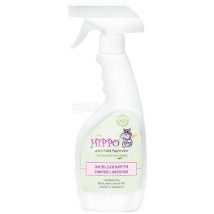 HIPPO, 300 мл, средство для мытья овощей и фруктов