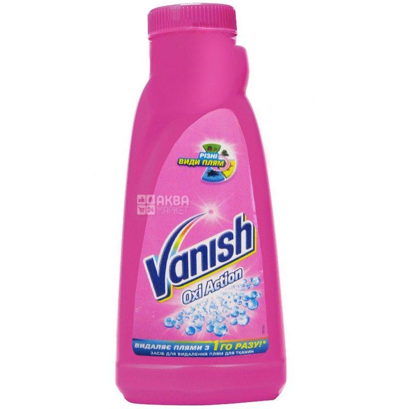 Vanish, 1 л, плямовивідник, рідкий, Oxi Action