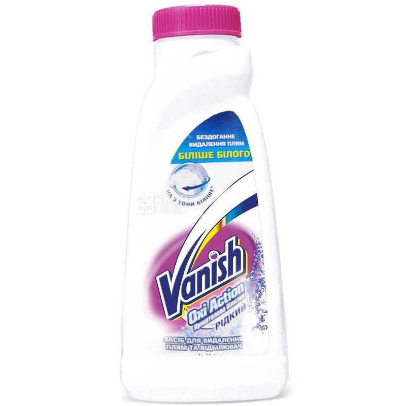 Vanish, 1 л, плямовивідник, відбілювач, рідкий, Oxi Action