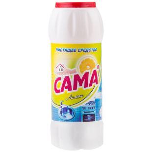 САМА, 500 г, чистящее средство, Лимон, ПЭТ